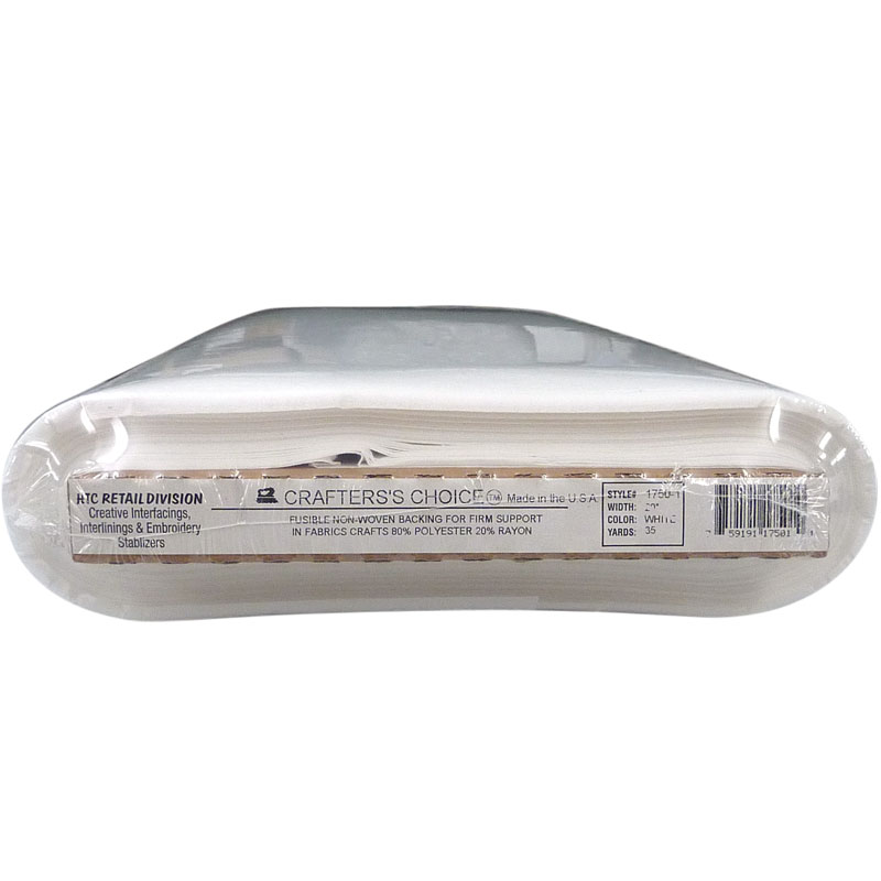 Interfacing - HTC - 1750 Crafter's Choice Fusible Non-Woven Stabilizer