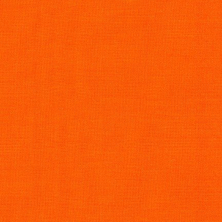 Kona Cotton Solid, Tangerine