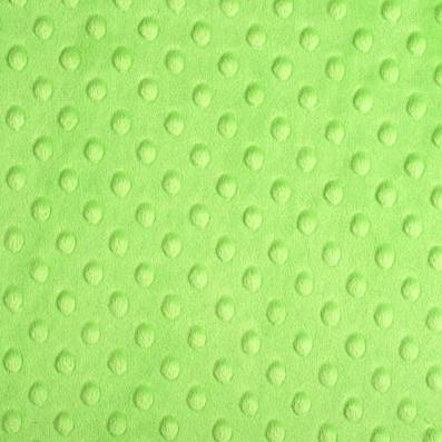 Shannon Fabrics - Cuddle Dimple - Dk Lime