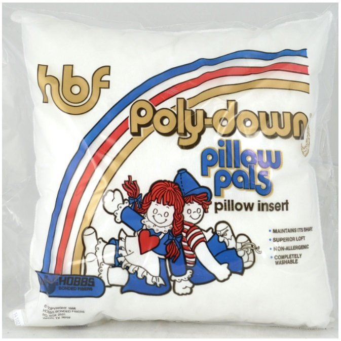Pillow Form - Poly-Down Pillow Pals 16 x 16