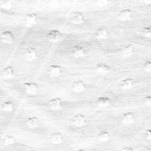 Cotton Lawn Clip Dot White