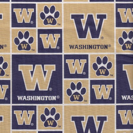 University of Washington Patch Cotton