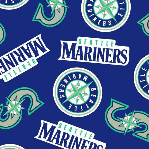 Seattle Mariners Baseball Fleece Blue