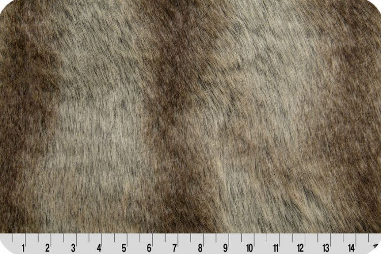 Shannon Fabrics - Fancy Chinchilla - Grey/Silver
