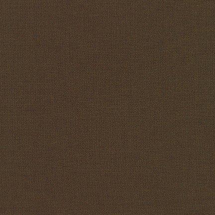 Kona Cotton Solid, Chocolate