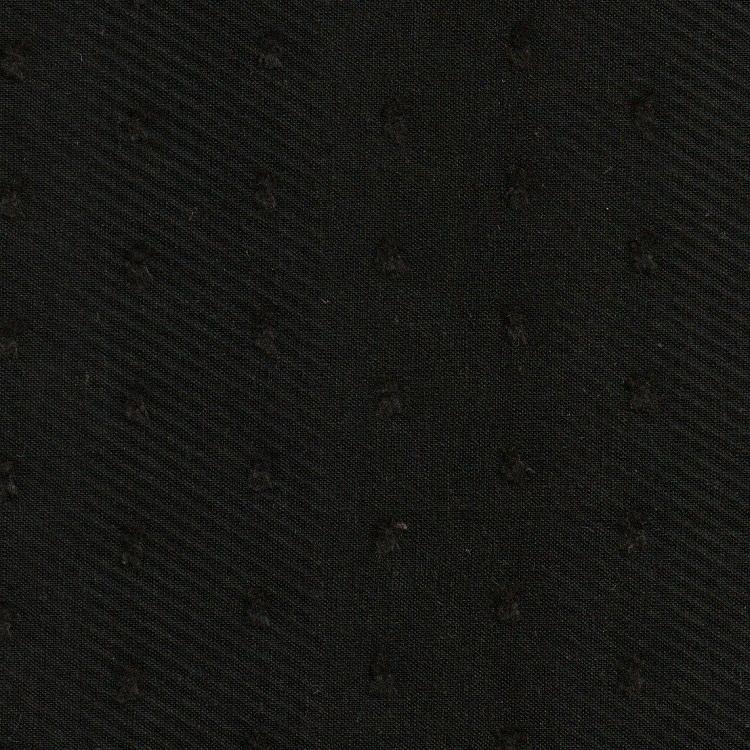 Cotton Lawn Clip Dot Black