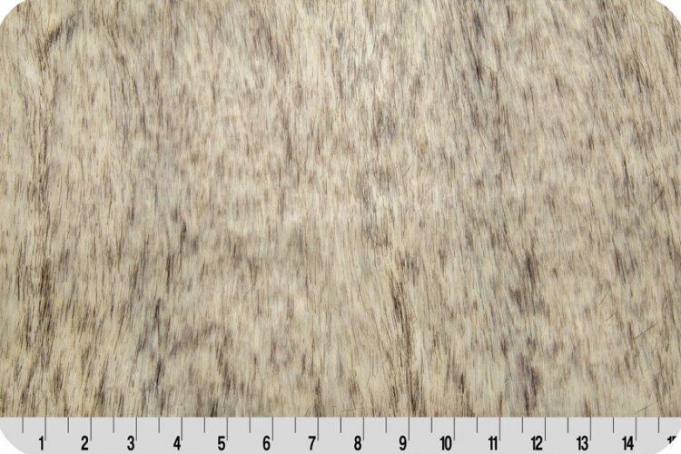 Shannon Fabrics - Canadian Fox Fur - Stone