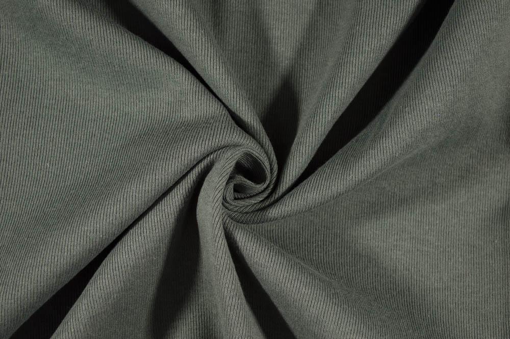 T-Knit Ribbing - Charcoal Grey