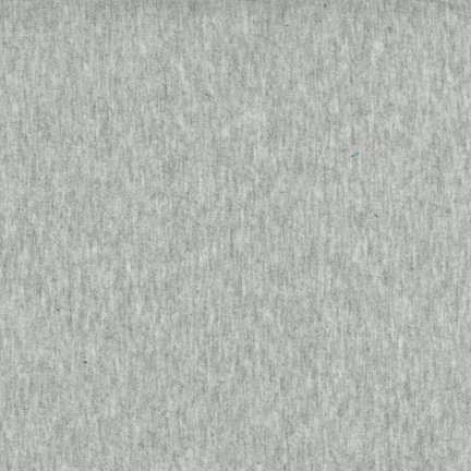 Robert Kaufman - Laguna Cotton Jersey - Heather Grey