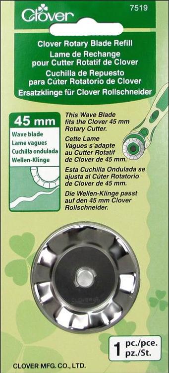 Clover - Wavy Edge Rotary Blade