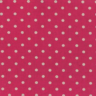 Linen Mochi Dot - Magenta