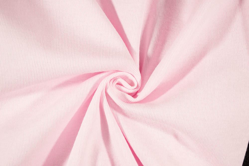 T-Knit Ribbing - Baby Pink