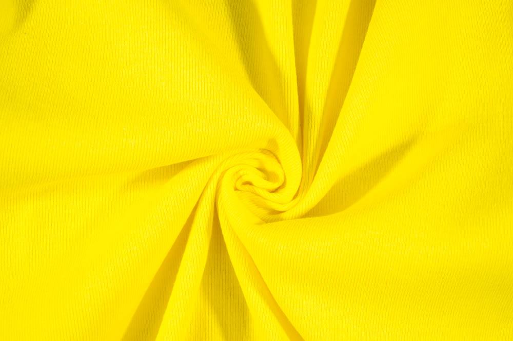 T-Knit Ribbing - Yellow