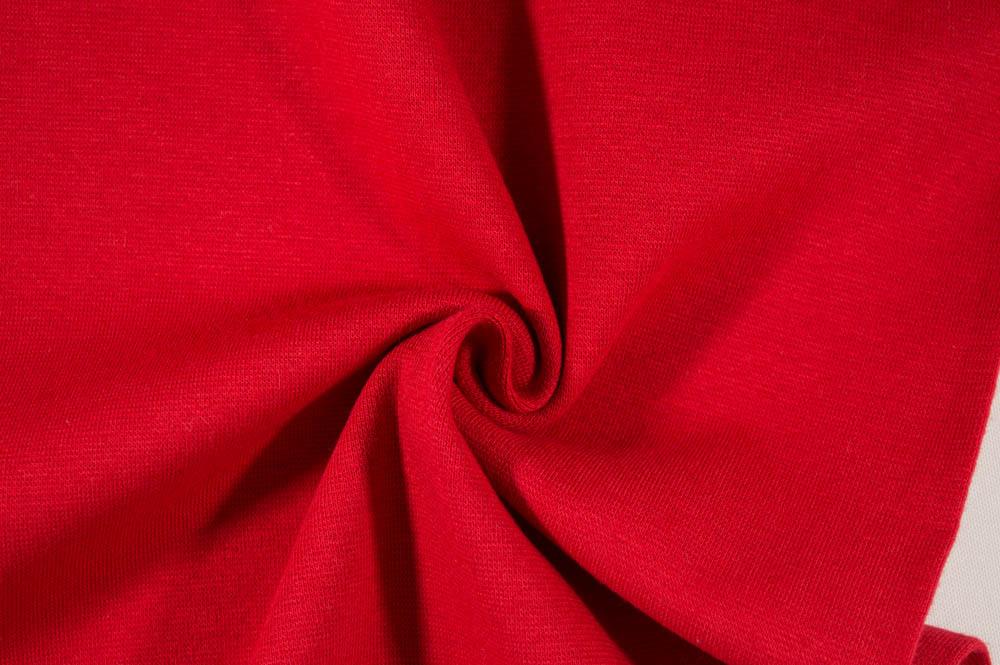 Strech Lycra Ribbing - Red