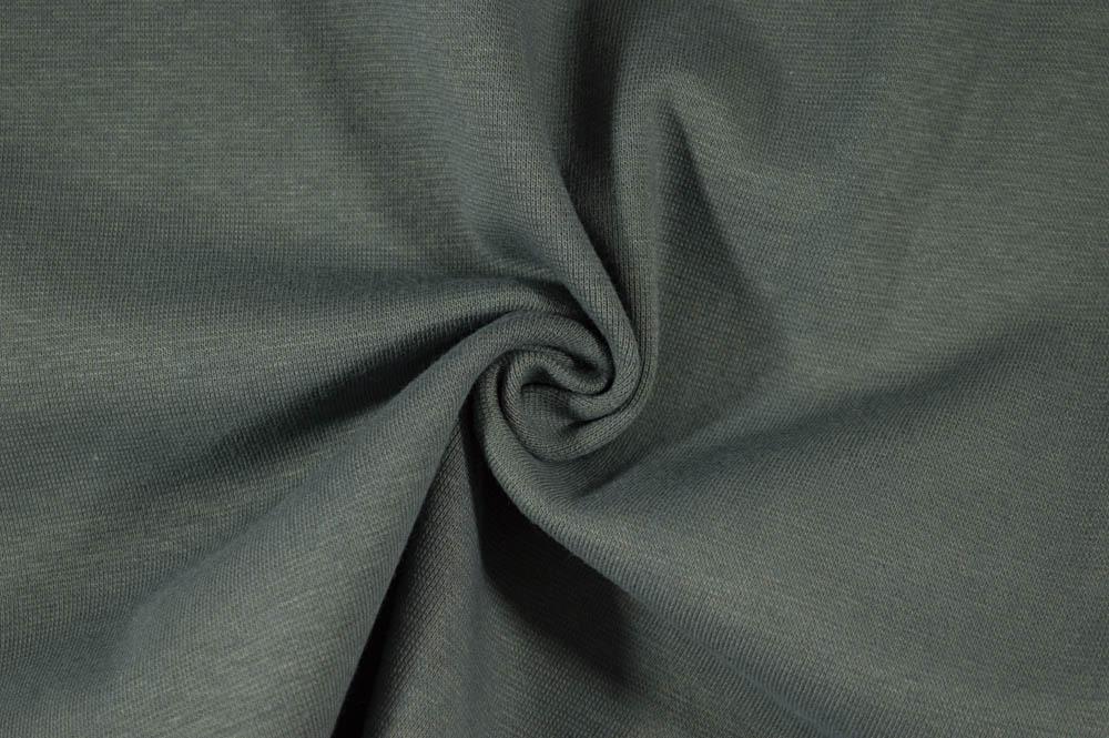 Strech Lycra Ribbing - Charcoal Grey