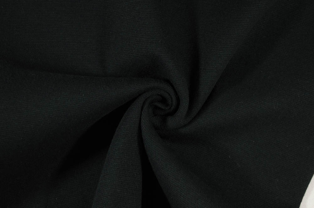 Strech Lycra Ribbing - Black