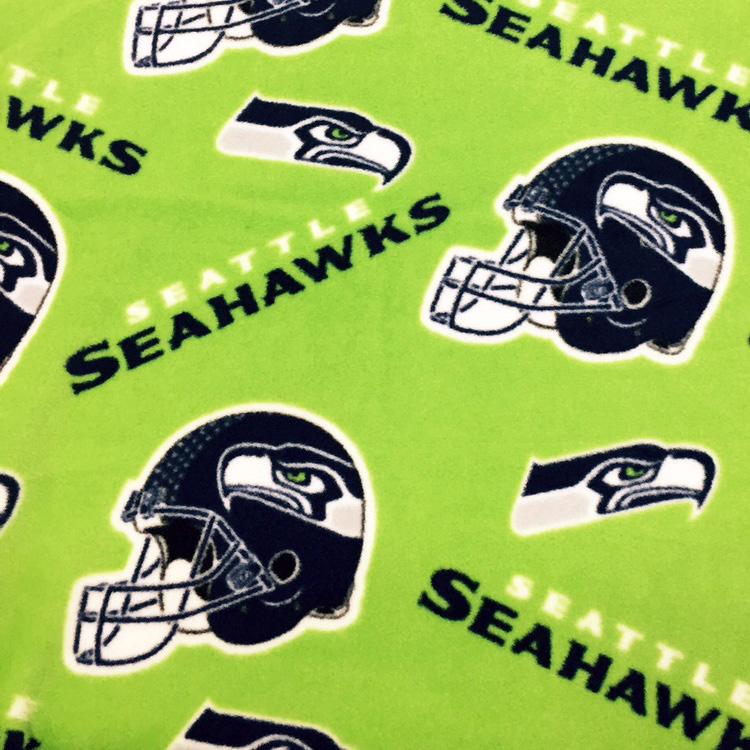 Seahawks Fleece Lime