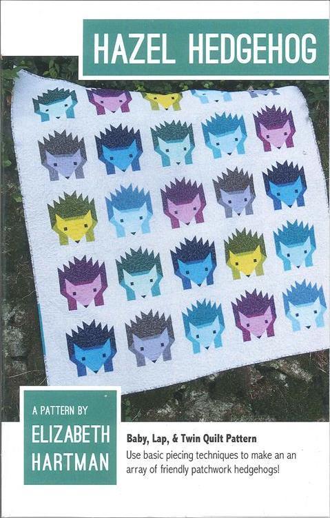 Pattern - Elizabeth Hartman - Hazel The Hedgehog Quilt