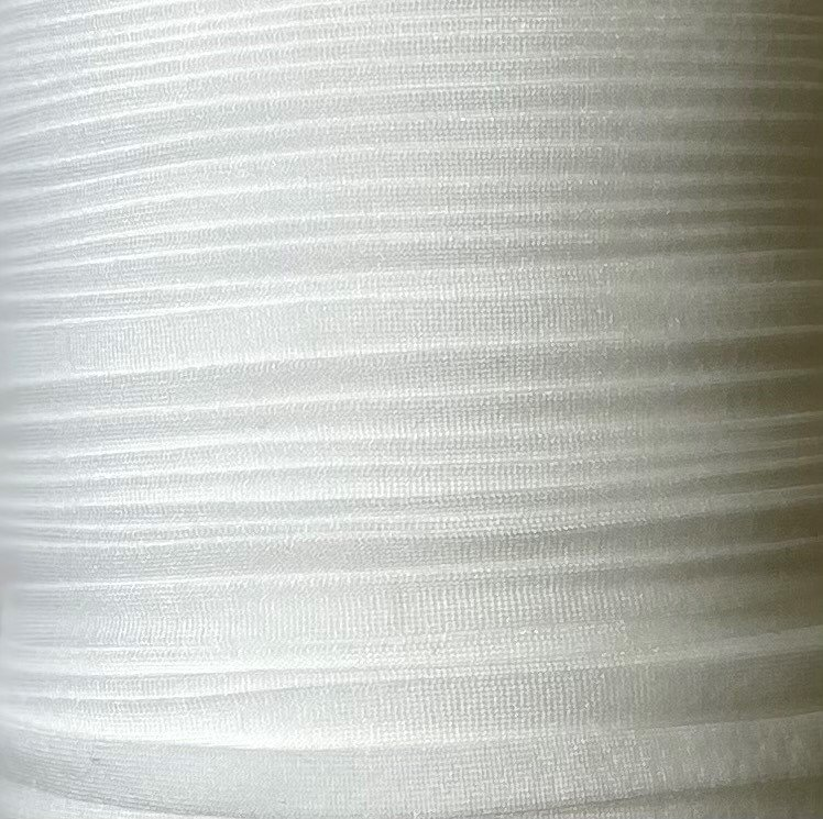 1/4 inch Plush Elastic WHITE - 10 yards