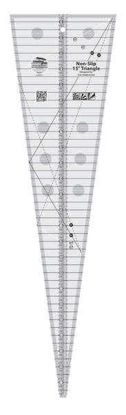 Creative Grid 15 Degree Triangle Ruler