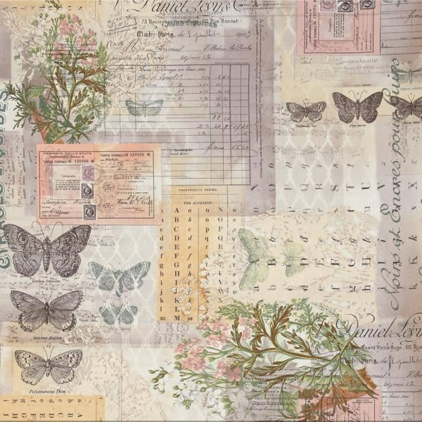 Tim Holtz - Eclectic Elements - Vintage botanical