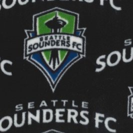 Seattle Sounders Fleece Black