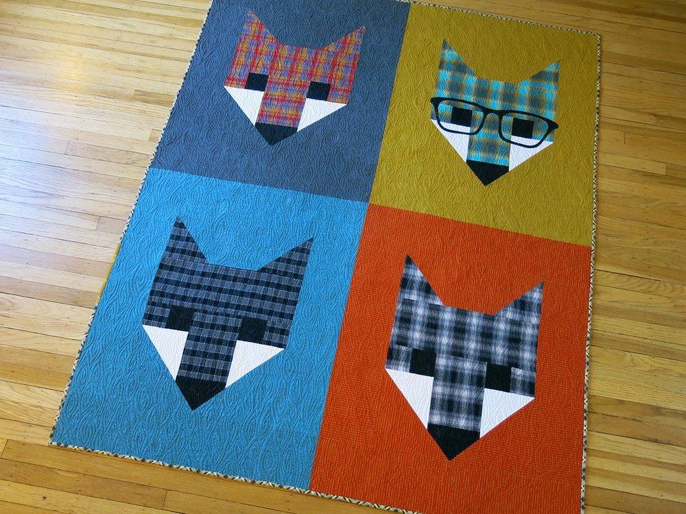Pattern - Elizabeth Hartman - Fancy Fox II