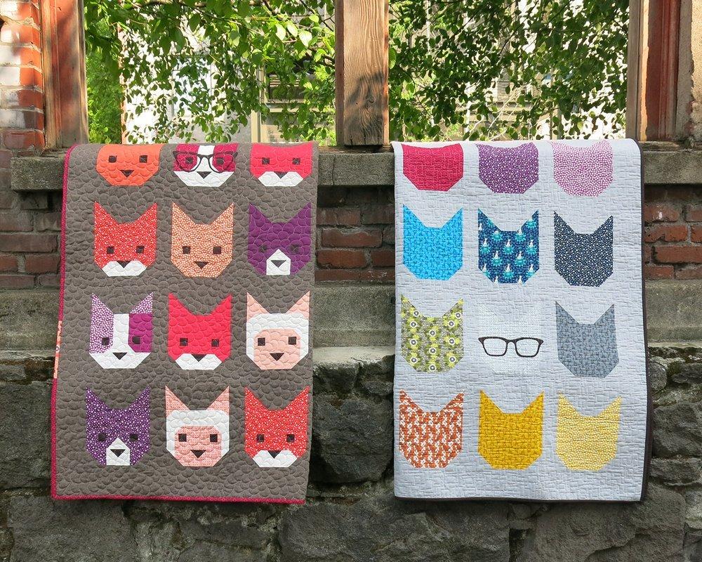 Pattern - Elizabeth Hartman - The Kittens
