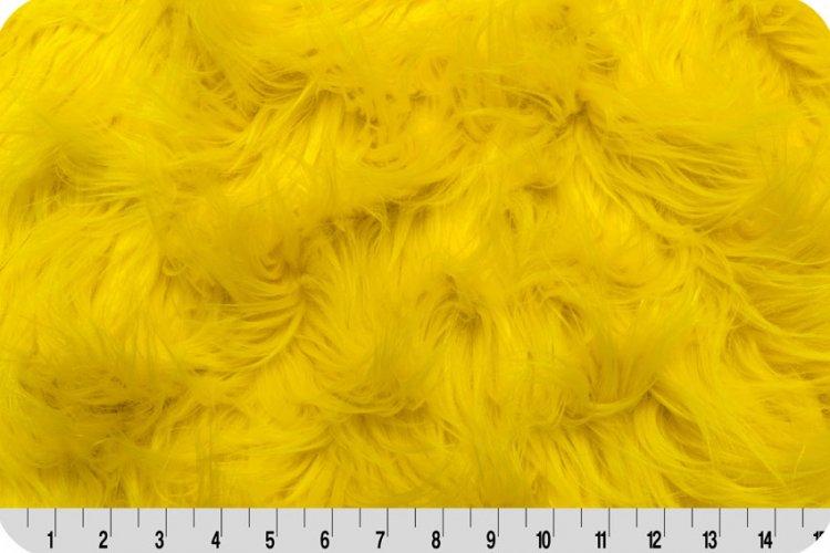 Shannon Fabrics - Gorilla Fur - Yellow