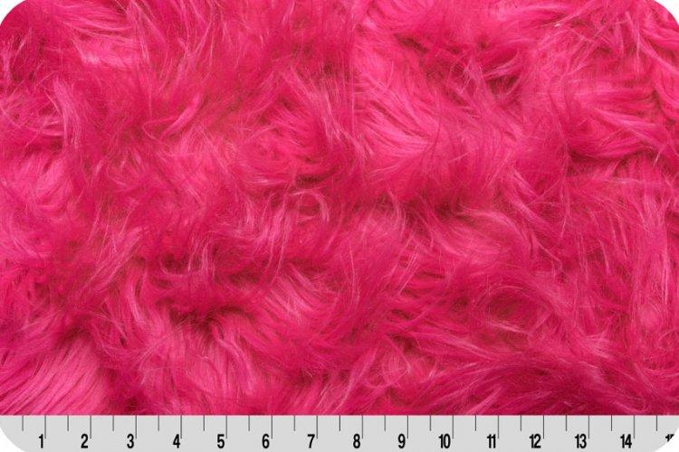 Shannon Fabrics - Gorilla Fur - Hot Pink