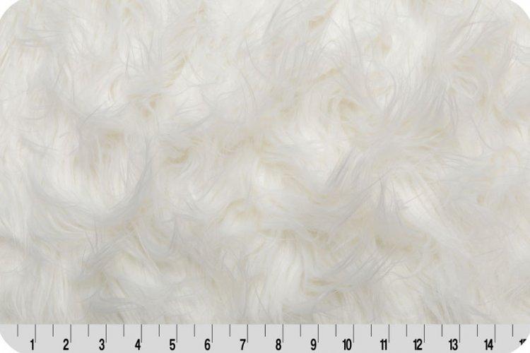 Shannon Fabrics - Gorilla Fur - White