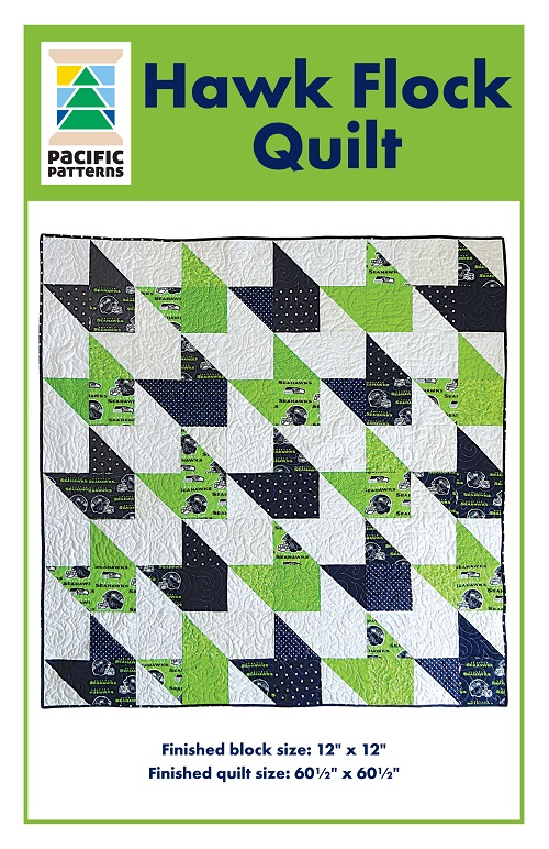Hawk Flock Quilt Pattern