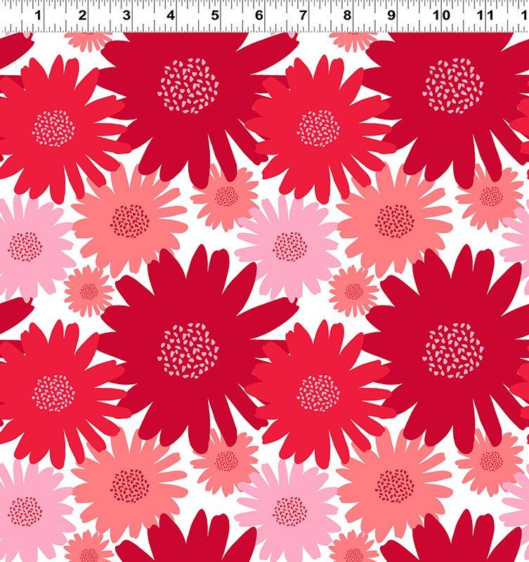 Clothworks - Gerbera Red - Y1925-1