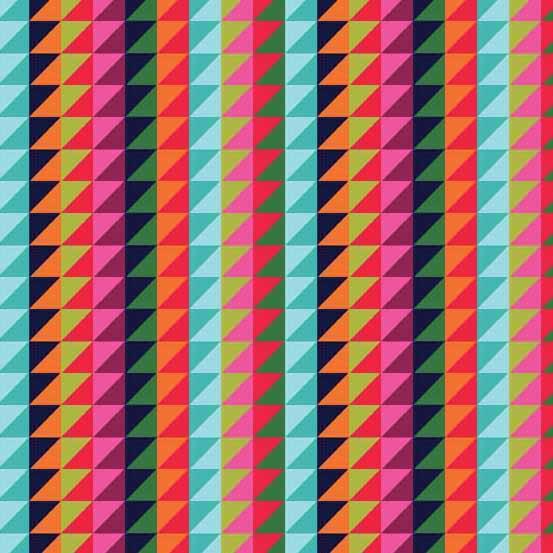 Andover - Wrap It Up - Grid Stripe Multi