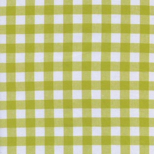 Cotton + Steel - Checkers Gingham (Citron 1/2)