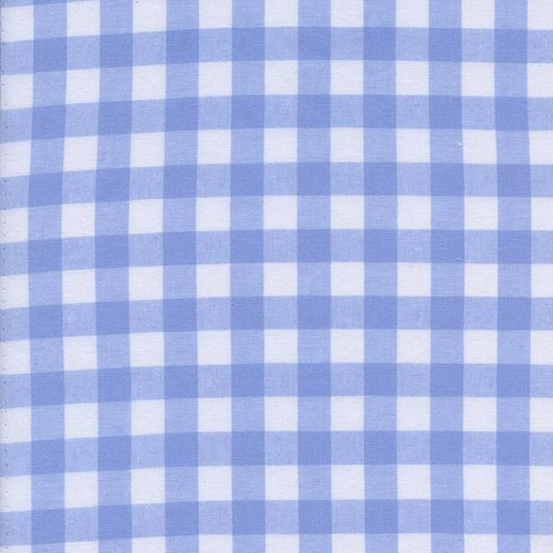 Cotton + Steel - Checkers Gingham (Sky 1/2)