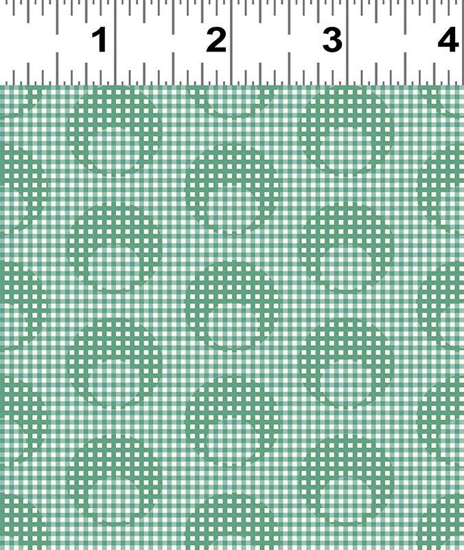 Clothworks - Raspberry & Cream - Y2057-110