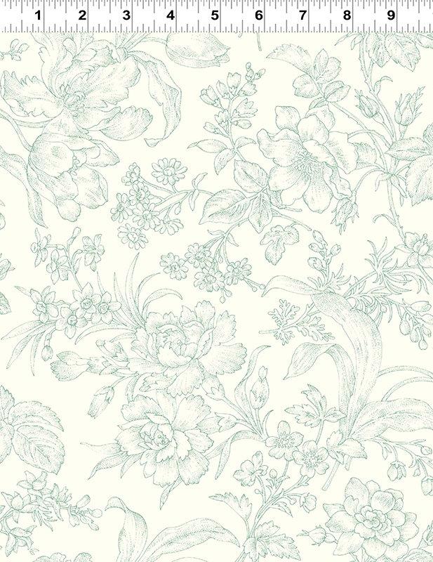 Clothworks - Raspberry & Cream - Y2059-110