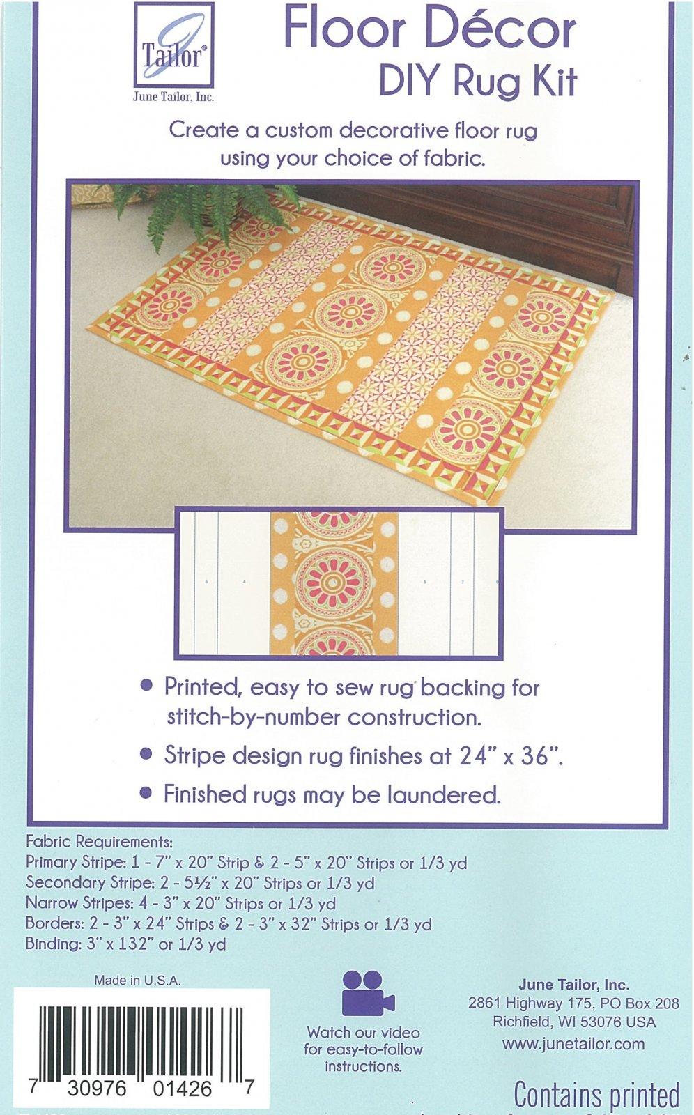 June Tailor - Floor Decor - DIY Rug Kit (Stripes)