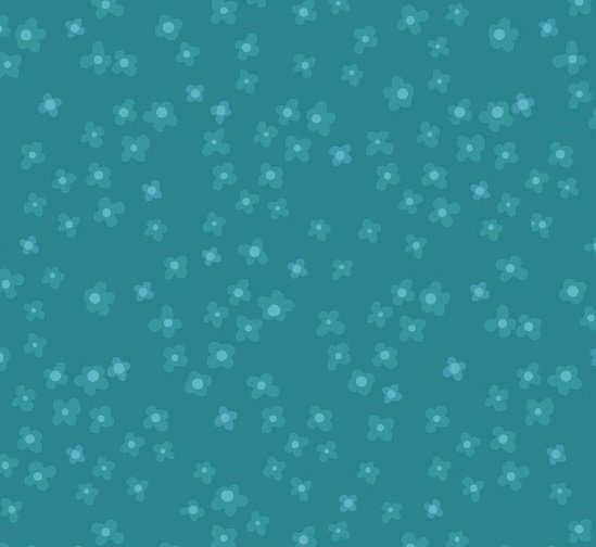 Getting To Know Hue - Daisy Turquoise
