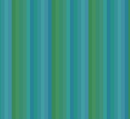 Getting To Know Hue - Stripe Teal