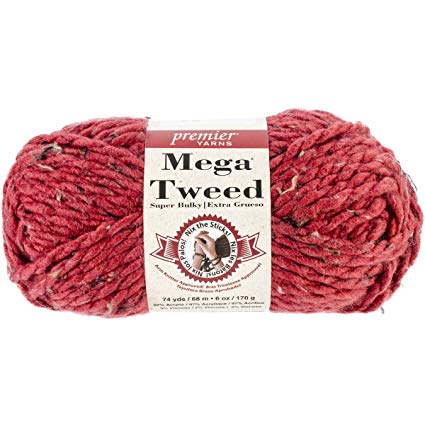 Premier - Mega Tweed - Burgundy