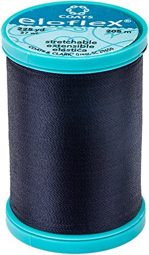 Eloflex Stretchable Thread - Navy (225 yards)