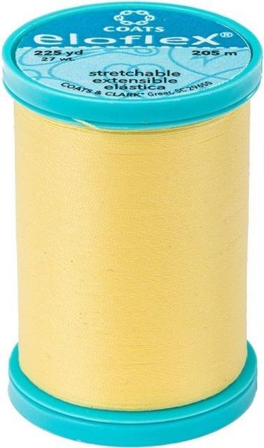 Eloflex Stretchable Thread - Yellow (225 yards)