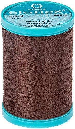 Eloflex Stretchable Thread - Dark Brown (225 yards)