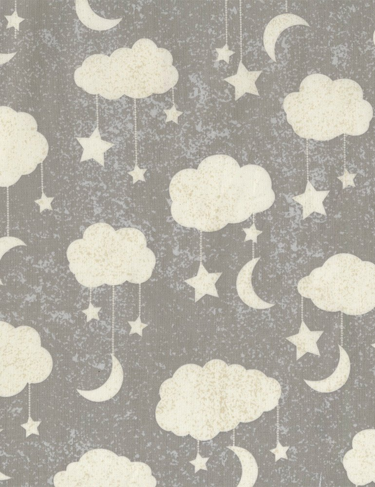 Timeless Treasures - To Moon and Back - Clouds
