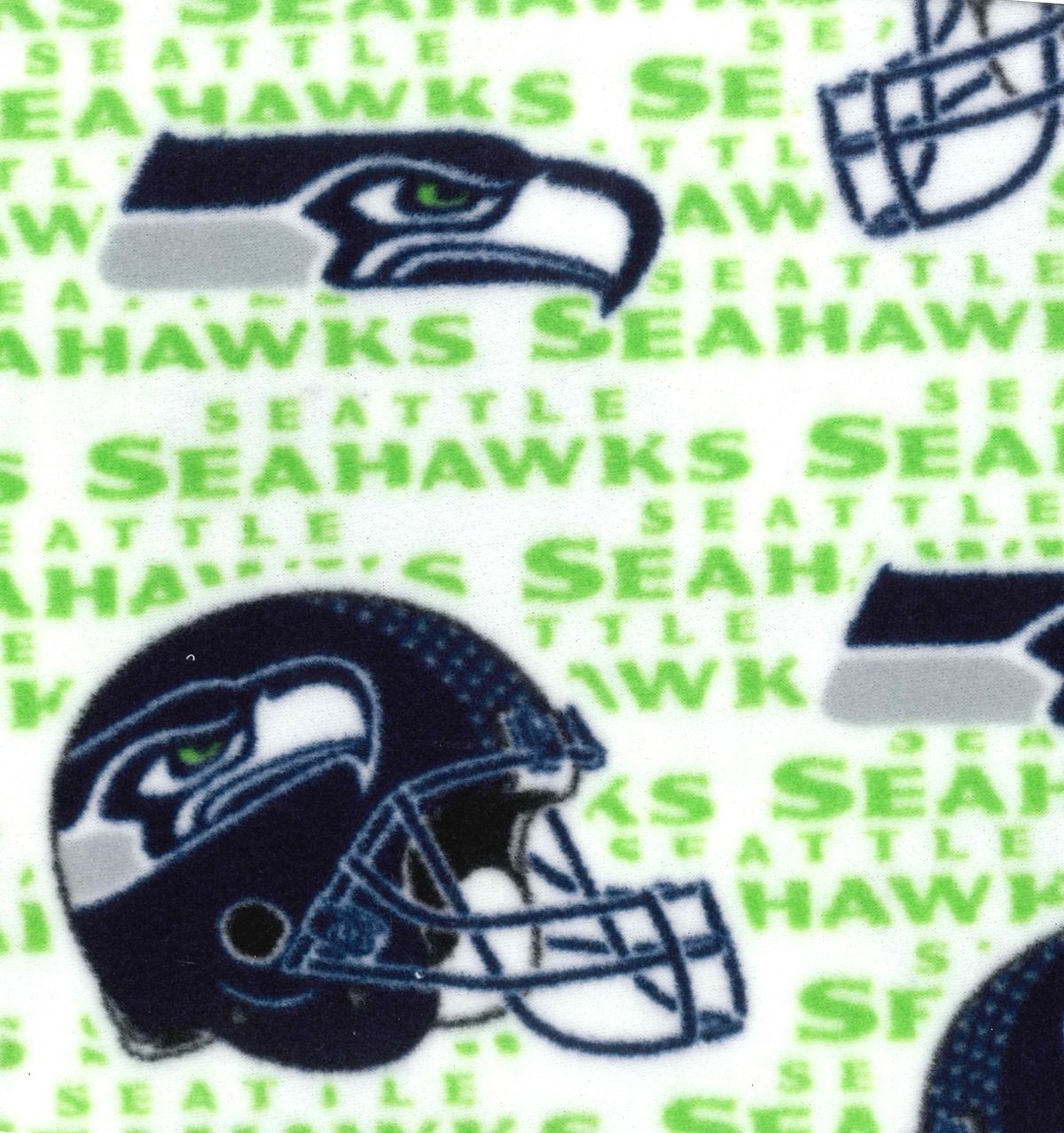 Seahawks Fleece White