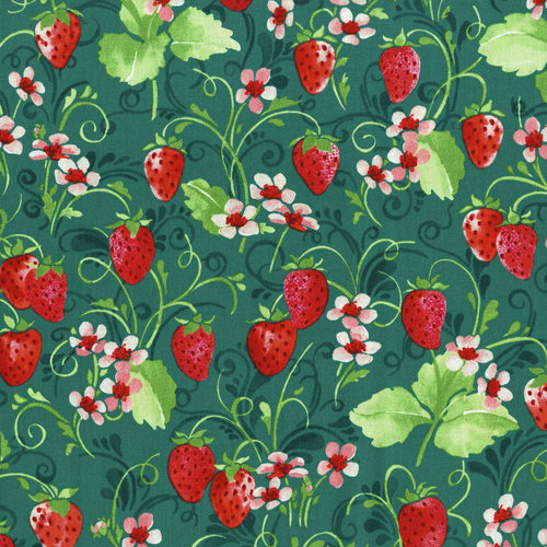 RJR - Sugar Berry - Strawberry Pie Radiant Juniper