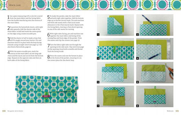 Book - Fat Quarter Quick Makes