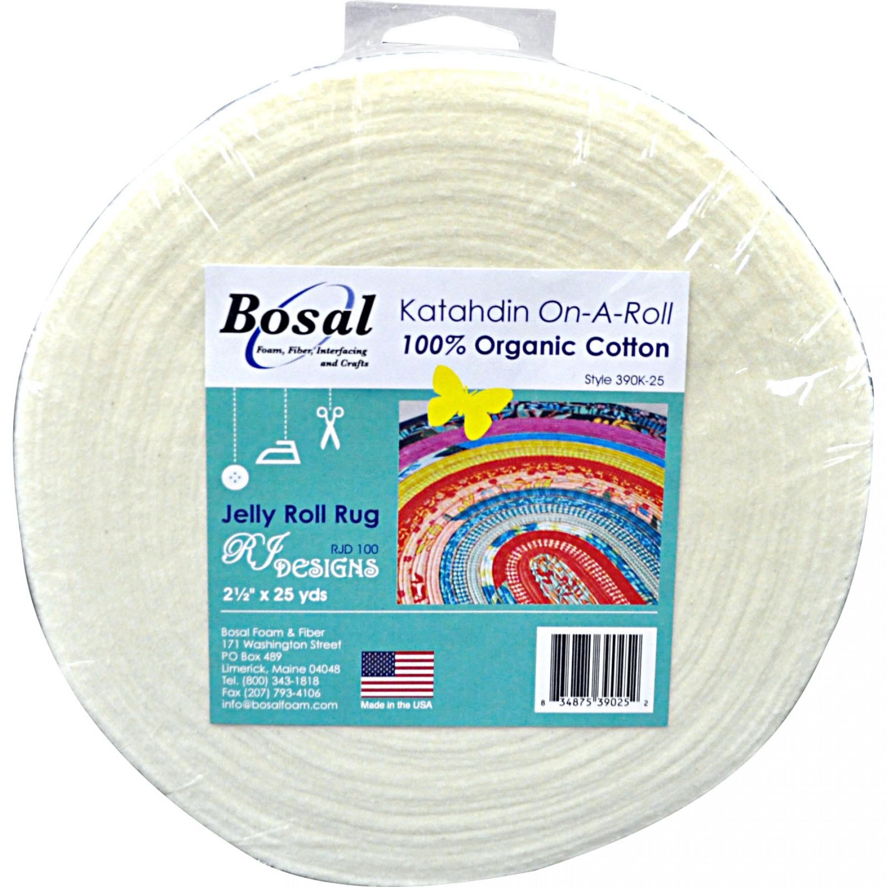 Bosal - Katahdin On-A-Roll (Cotton Batting)